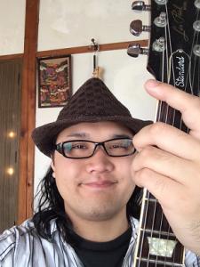 茨城県古河市鴻巣のスバルギター教室主宰佐藤昴プロフィール