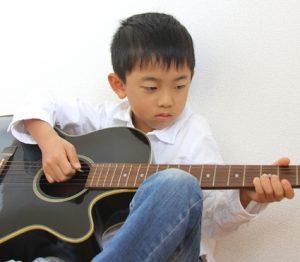 小学1年生から習える茨城県古河市鴻巣のスバルギター教室子供のギター教室